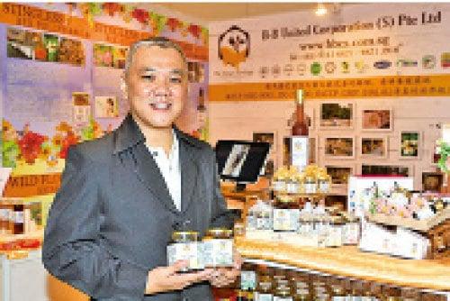 新加坡的B-B United Corps. PTE Ltd业务发展经理萧际贤。
