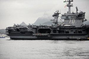 美增派航母駛向南海 特朗普亞洲戰略引關注