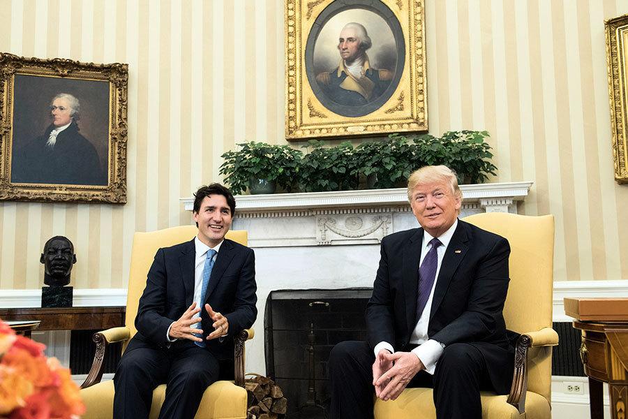 越看越喜歡 特朗普再讚加拿大移民積分制