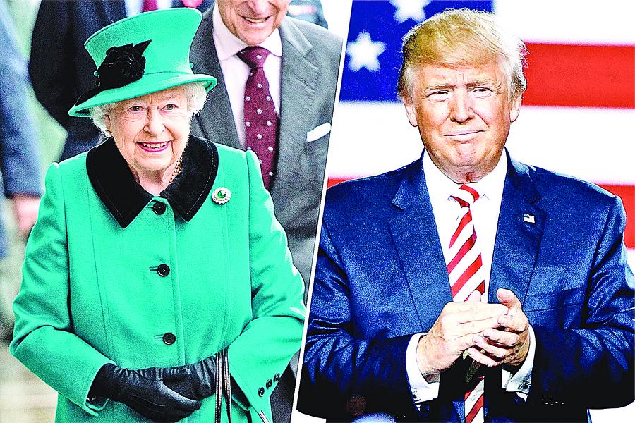 特朗普訪英將走親民路線