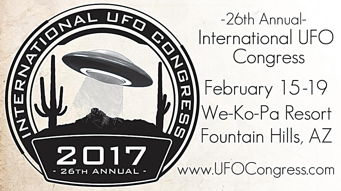 第26屆國際UFO年度大會於本月15~19日,在美國亞利桑那州噴泉山We-Ko-Pa 度假村舉行。(視頻截圖)