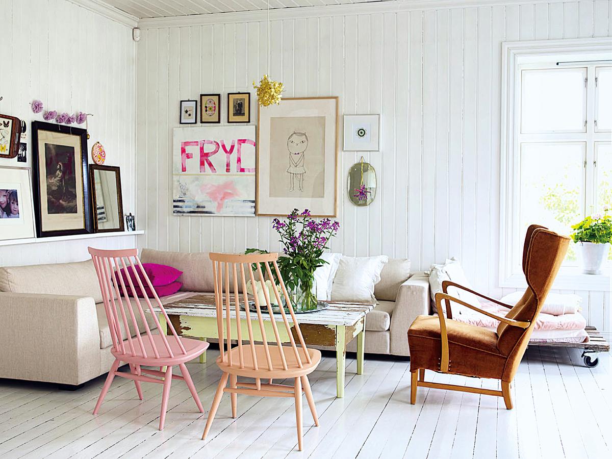 傢俬配搭得宜,可增添家中的歡樂氣氛。顏色的選擇也至為重要。