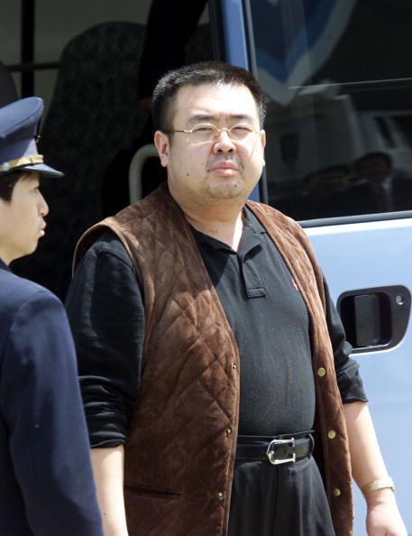 金正日的長子金正男。(AFP/Getty Images)