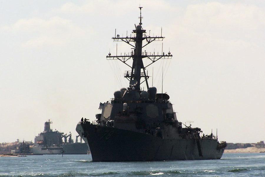 美驅逐艦黑海演習 遇俄四戰機低空掠過