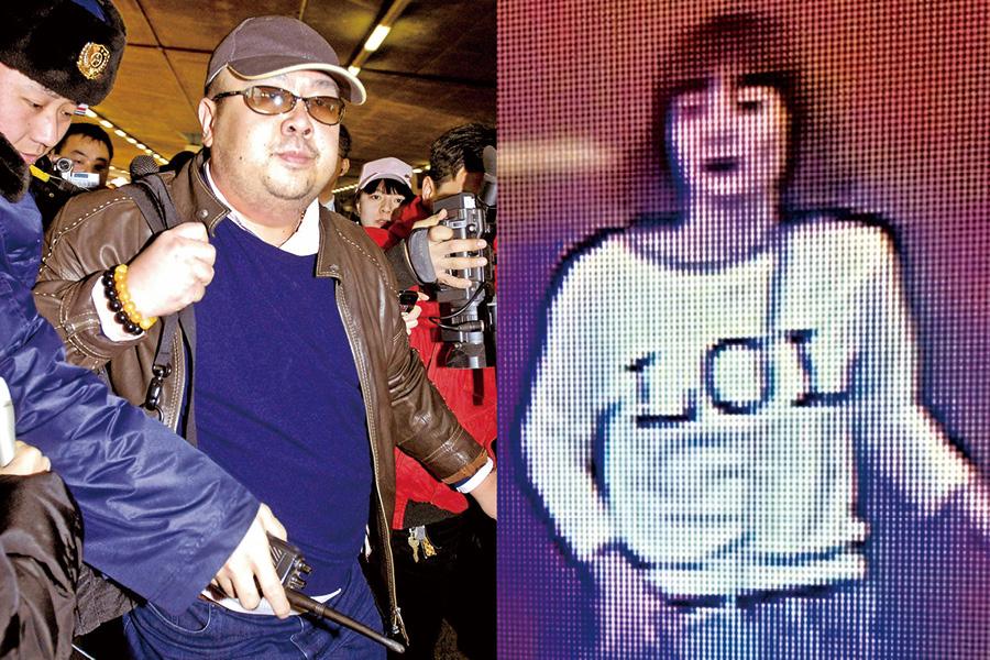北韓領導人金正恩同父異母兄長金正男13日在馬來西亞遇刺身亡,馬來西亞警方先後拘捕3名疑兇。(AFP)