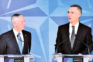 北約秘書長支持特朗普 同意讓成員國分攤軍費