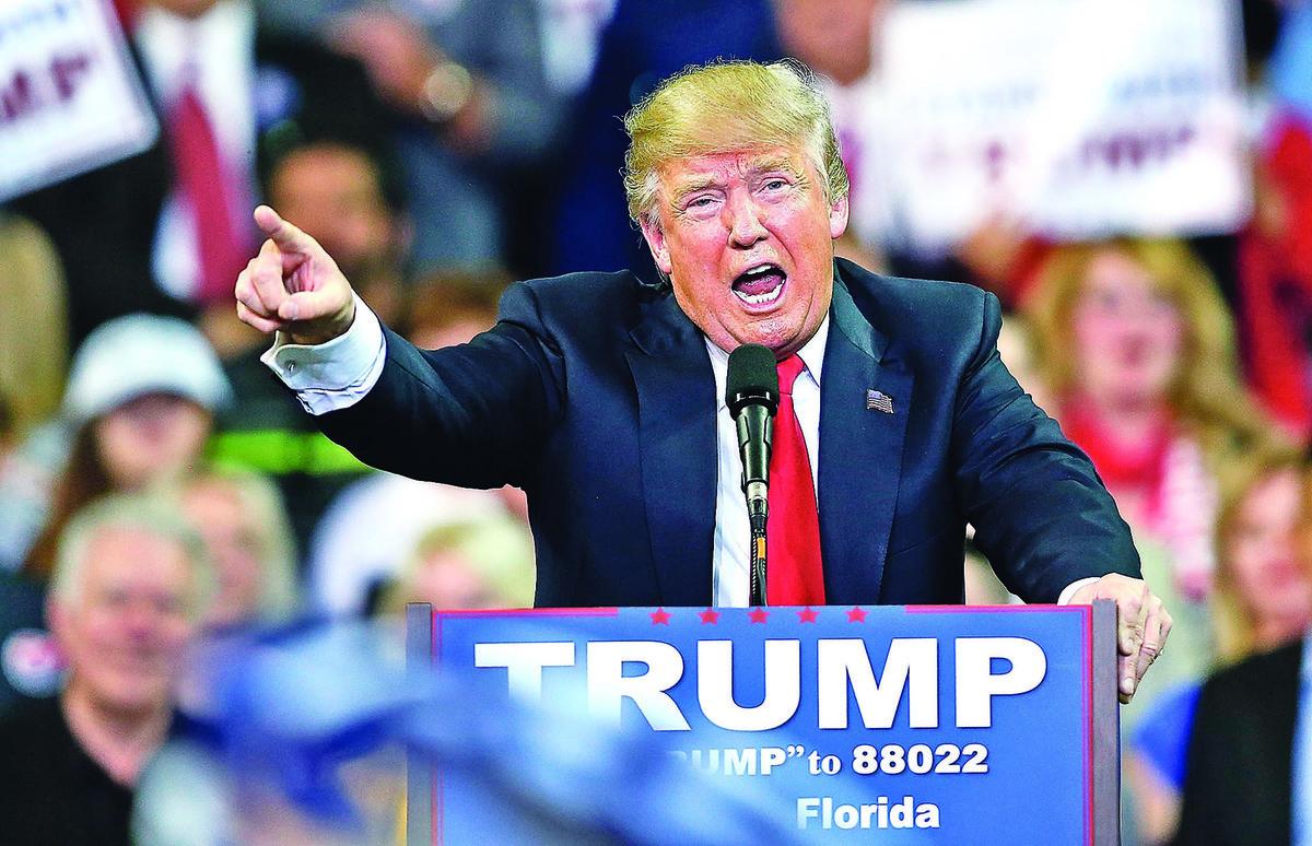 面對華府強大的阻力,特朗普似乎準備再次「出征」。(Getty Images)