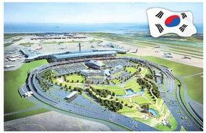 仁川機場第二期將竣工