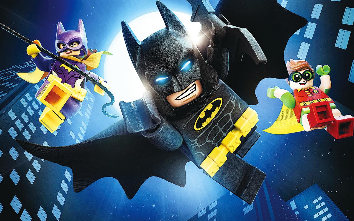 《LEGO蝙蝠俠英雄傳》電影海報。