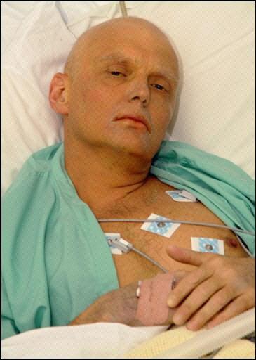 涉嫌被謀殺的入籍英國的前俄羅斯間諜利特維年科。(法新社)