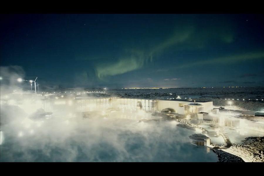 滿月下的冰島 美景令人屏息