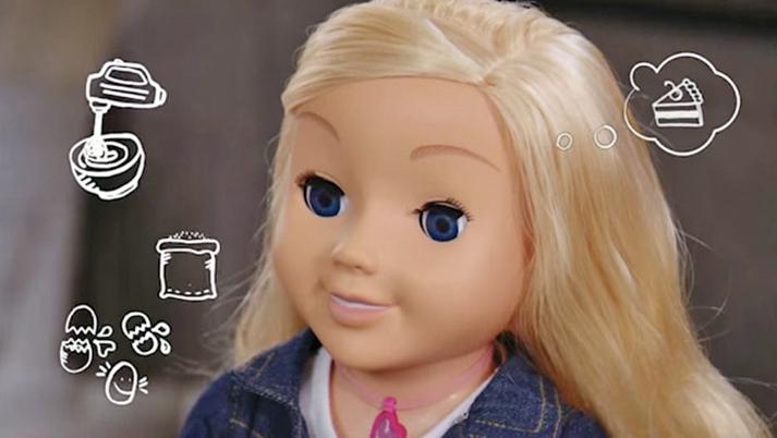 德國主管機關近日禁止名為「我的朋友凱拉」(My Friend Cayla)的洋娃娃,並且警告它是一種「間諜裝置」。(影片擷圖)