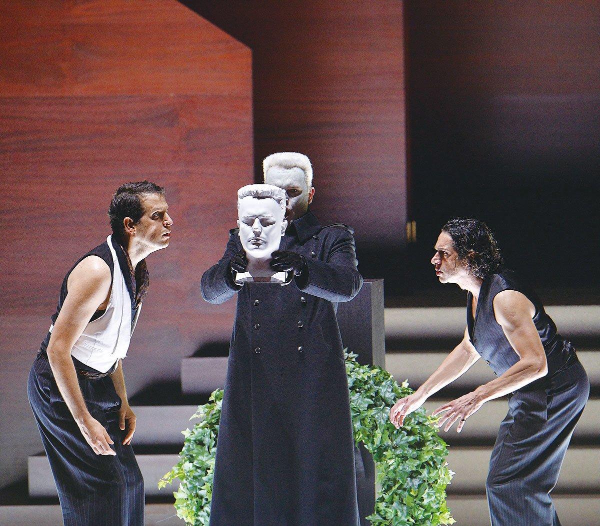 2014年在奧地利演出的現代版《唐.喬凡尼》。(Getty Images)