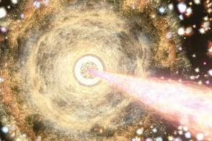 極古老超級黑洞挑戰宇宙理論