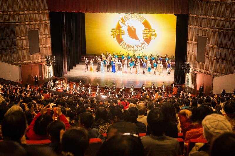 神韻台北爆滿 行政院長慕名而來:非常成功