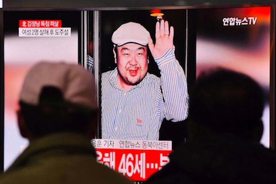 馬國:四北韓人供毒 二女徒手抹毒殺害金正男