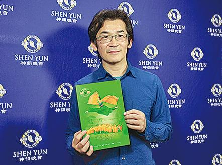 台灣知名導演魏德聖二度觀賞神韻,驚嘆神韻的一切表現是「怎麼做到的!?」(李賢珍/大紀元)