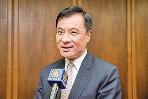 台灣立法院長:不看神韻會後悔一輩子