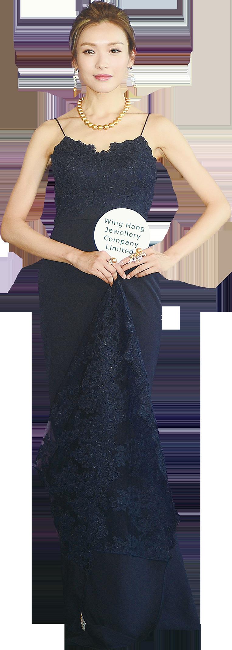 李佳芯演繹耀目璀璨獲獎珠寶   優雅氣質與眾不同