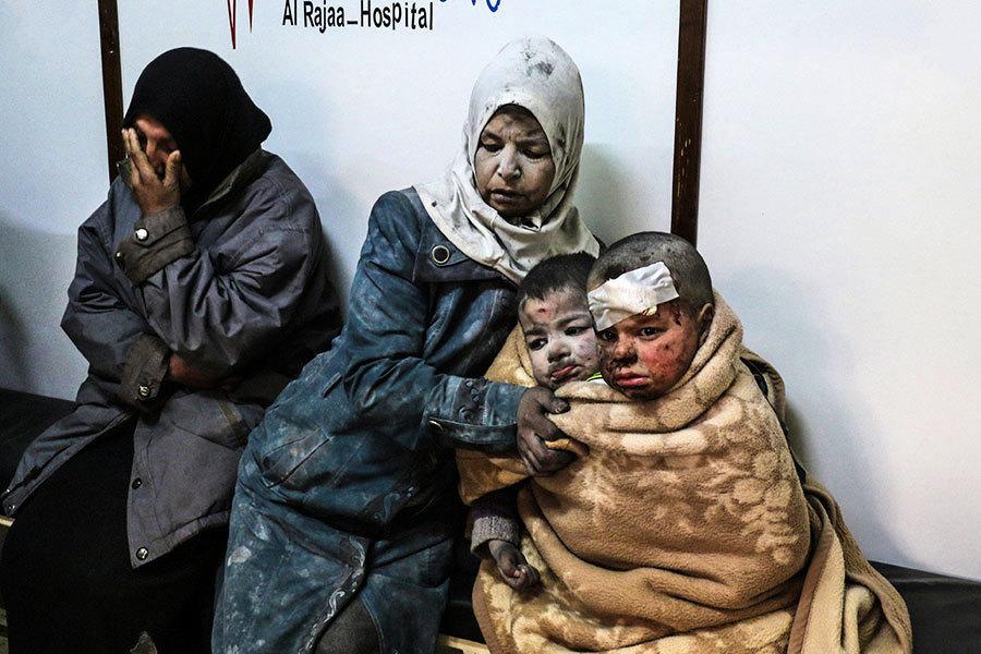 敘利亞女童瓦礫中奇蹟獲救
