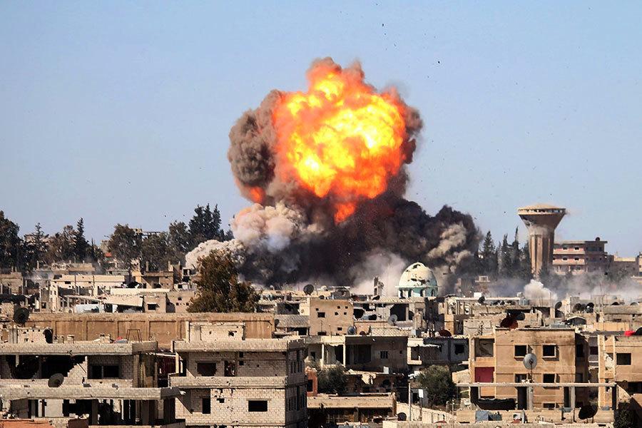 美駁斥俄對敘利亞安全區的軍用飛機禁令