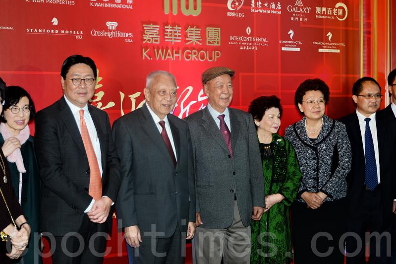 嘉華國際主席呂志和昨出席新春酒會時表示, 一定會在行政長官選舉中提名,但他未有回應心水人選。(宋祥龍/大紀元)