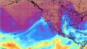 研究:加州的狂風暴雨來自「天上那條河」