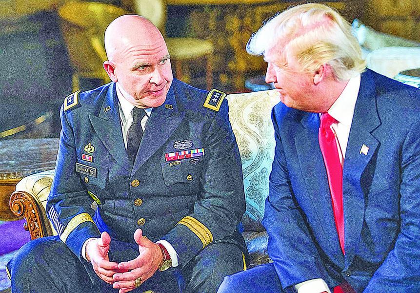 特朗普任命新國安顧問