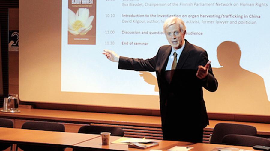 【圖片新聞】芬蘭議會揭中共活摘罪行研討會