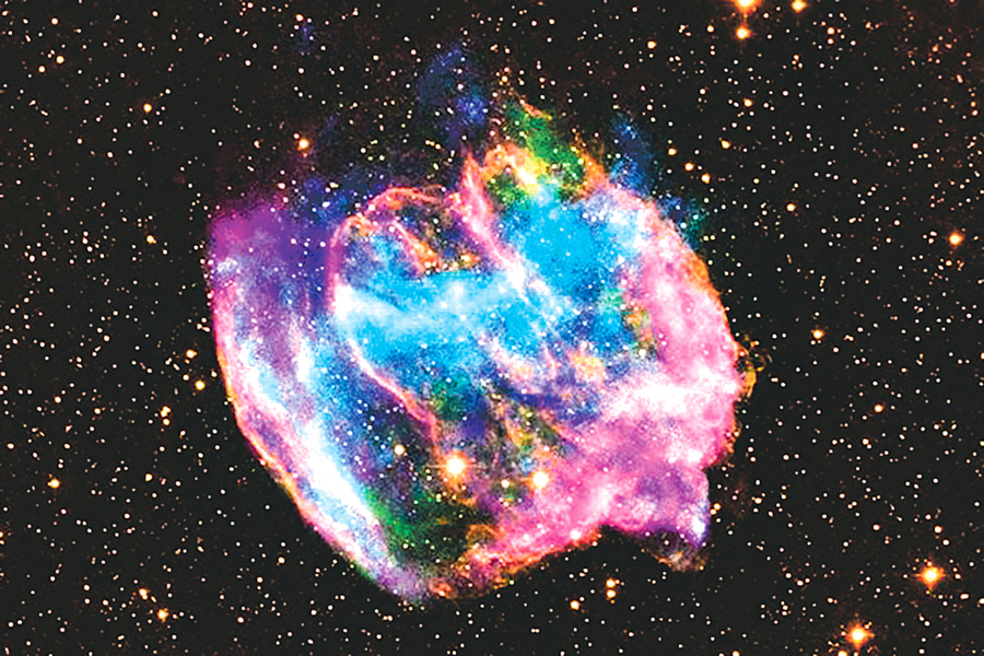 人類首次目睹超新星爆發