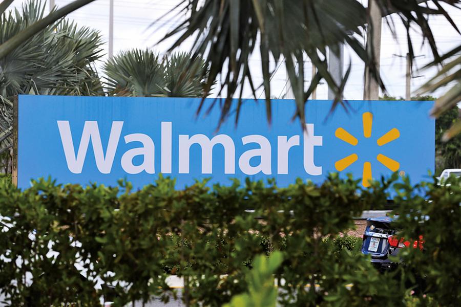 美國沃爾瑪股價大漲3%