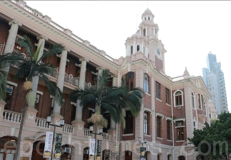 港大校委會昨日就檢討大學管治專責小組的報告決定維持特首校監必然制,亦不會削減校監權力。圖為港大校園。(大紀元資料圖片)
