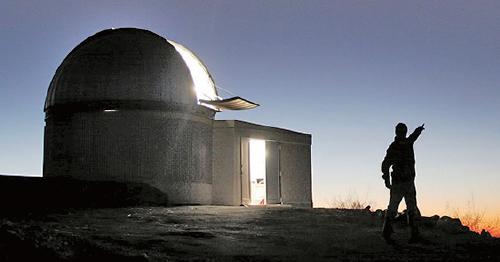Trappist-1星系得名自最初發現它們踪跡的智利Trappist 天文望遠鏡。(Wikipedia)