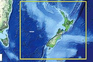 紐西蘭水下現新大陸 或成第八大洲