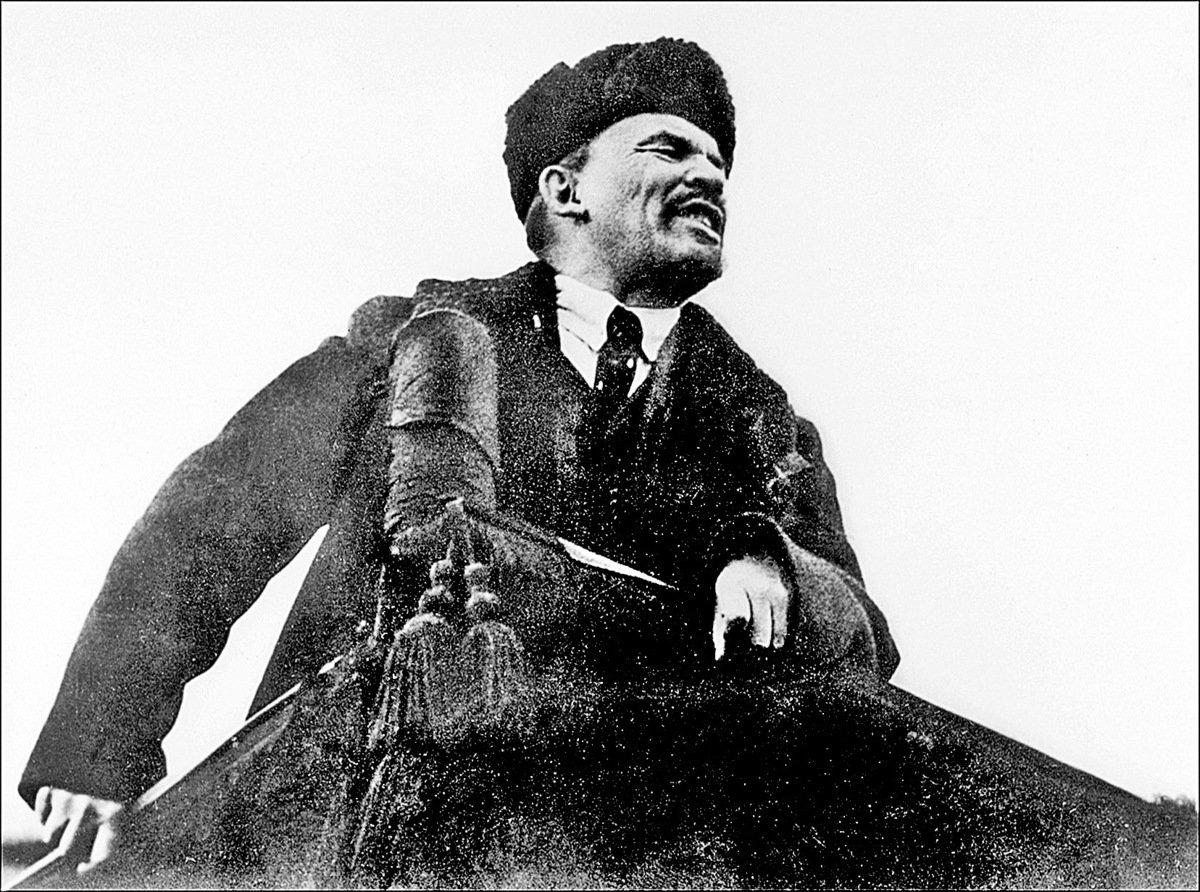 列寧被視為馬、恩之後的共產黨的又一個「導師」。(Getty Images)