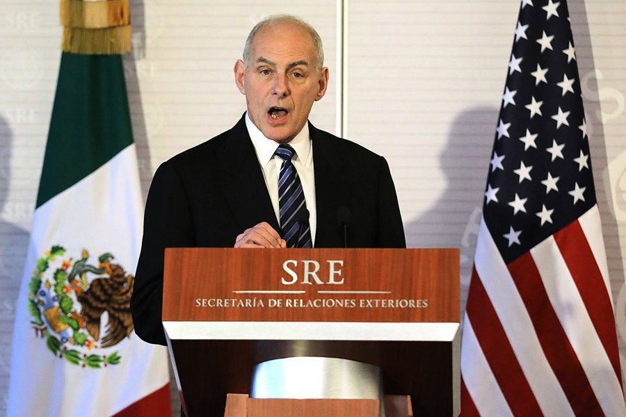 美國安部長訪墨 強調不會大規模遣返非法移民