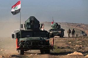 美軍支援下 伊拉克政府軍收復摩蘇爾機場