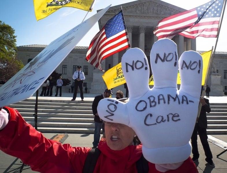 特朗普:先廢除奧巴馬健保 然後是稅務改革