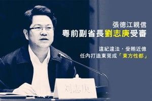 張德江親信粵前副省長劉志庚受審 受賄近億