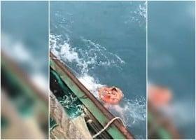 浙江一漁船失事沉沒 十三人失蹤七人被救
