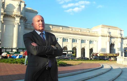 前美國智庫研究員、《大屠殺》《失去新中國》作者、獨立新聞調查記者伊森・葛特曼(Ethan Gutmann)。(李辰/大紀元)