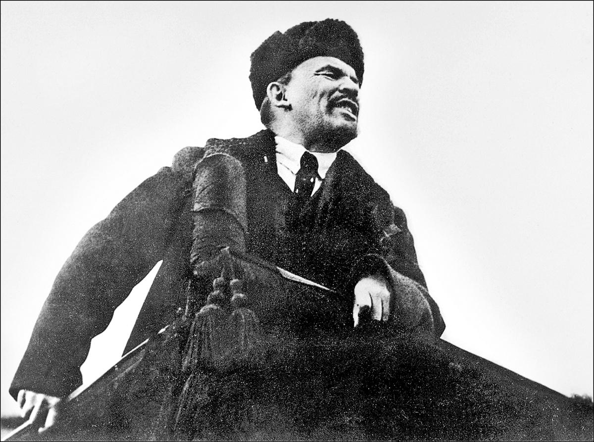 列寧被視為馬克斯、恩格斯之後的共產黨的又一個「導師」。(Getty Images)