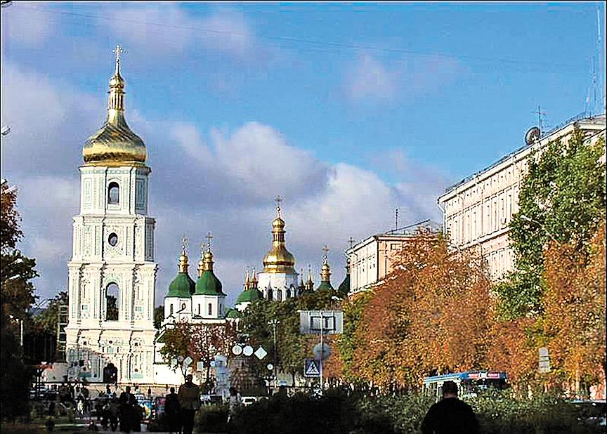 俄羅斯東正教教堂。(網絡圖片)