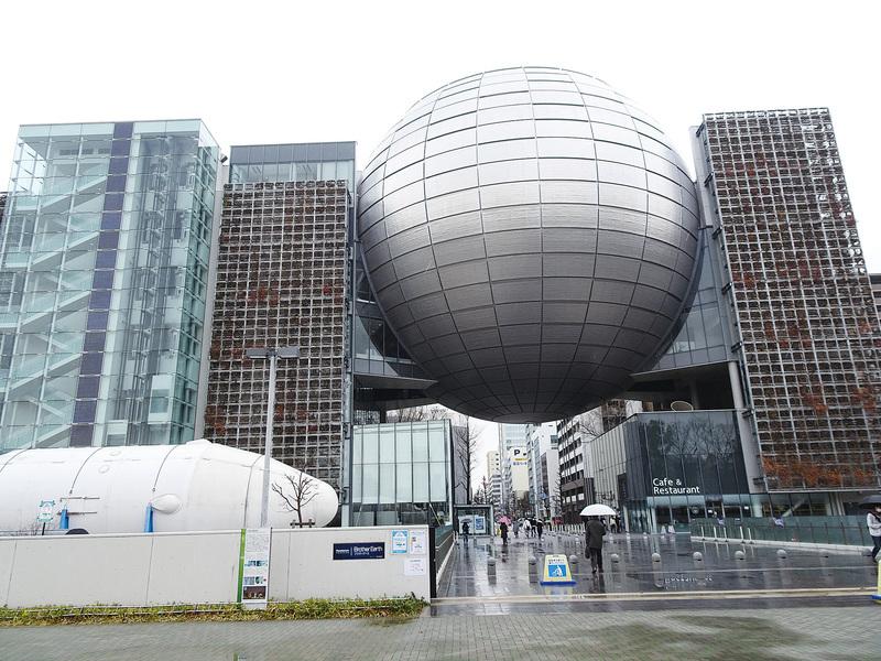 寓教於樂的名古屋市科學館