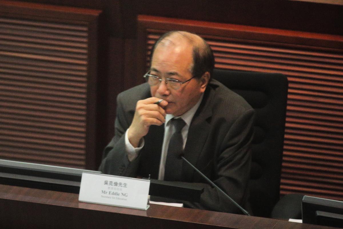 吳克儉昨日在電台節目透露,自己在6月底任期結束後,將會退休。(大紀元資料圖片)