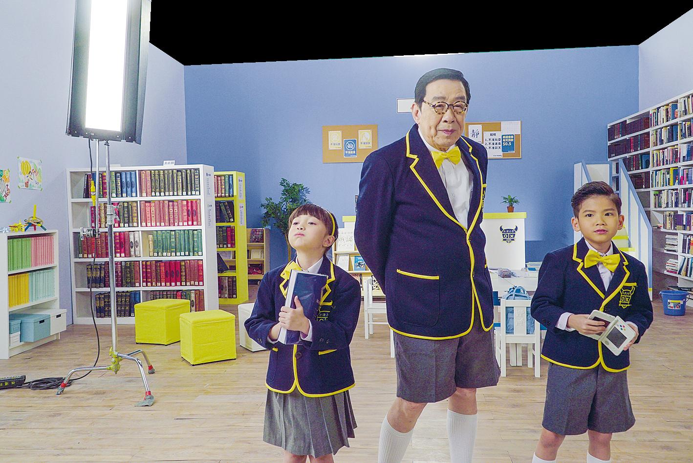 胡楓(修哥)拍攝新一輯短片《3個小學生去旅行》。(Expedia