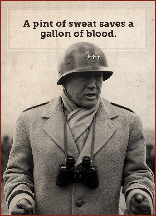 巴頓將軍檔案照。(公有領域)
