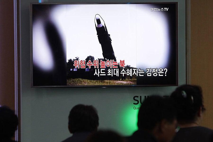 美韓有望加快部署薩德反導彈系统(THAAD)。(Getty Images)
