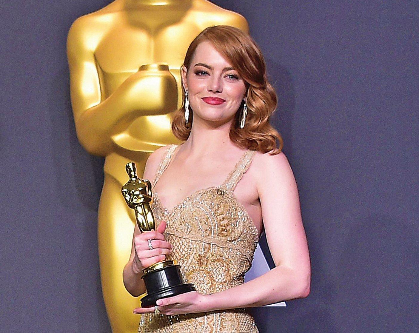 最佳女主角 愛瑪史東 (Emma Stone) 《星聲夢裡人》 (La La Land)