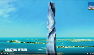 杜拜將建360°旋轉摩天樓
